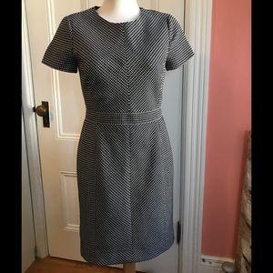 J.Crew Textured Boucle Dress